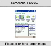 LingvoSoft FlashCards English - Lithuanian for Pocket PC utility